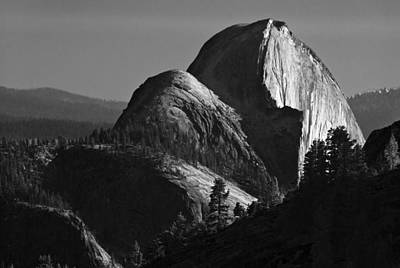 Half Dome At Sunset Art Print