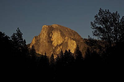 Photograph - Half Dome At Sunset by Lee Kirchhevel