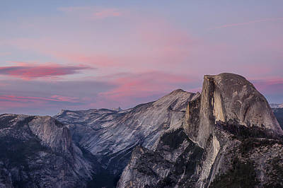 Photograph - Half Dome At Twilight 2 by Lee Kirchhevel