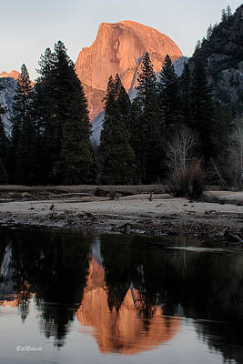 Park Scene Photograph - Half Dome by Bill Roberts