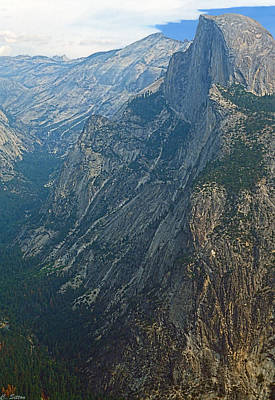 Photograph - Half Dome by C Sitton