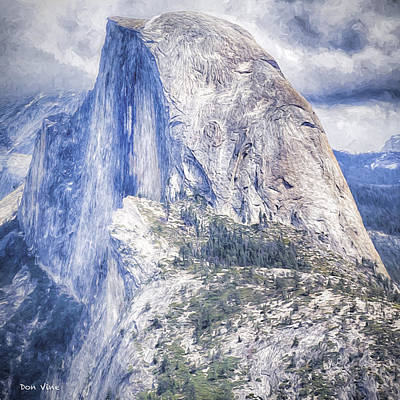 Photograph - Half Dome by Don Vine