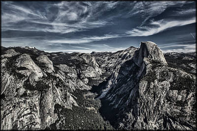 Photograph - Half Dome by Erika Fawcett