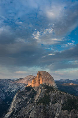 Photograph - Half Dome Evening by Greg Nyquist