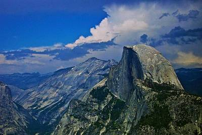 Photograph - Half Dome From Glacier Point by Eric Tressler
