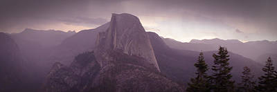 Photograph - Half Dome From Glacier Point by Robert Melvin
