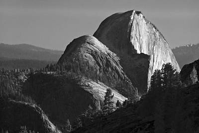 Photograph - Half Dome From Olmsted Point At Sunset by Gene Norris