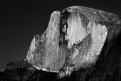 Photograph - Half Dome Illuminated by Robert Woodward
