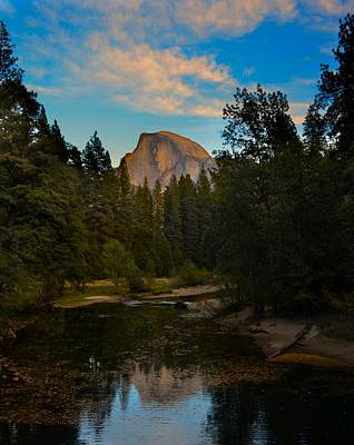 Half Dome In Yosemite Art Print