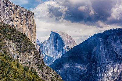 Half Dome Photograph - Half Dome In Yosemite by Mimi Ditchie
