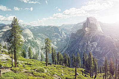 Awe Wall Art - Photograph - Half Dome In Yosemite With Foreground by James O'neil