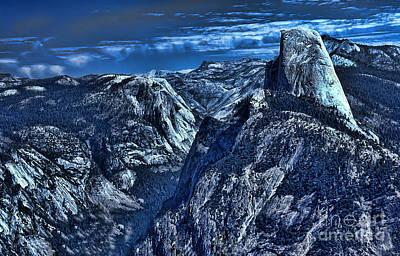 Yosemite National Park Digital Art - Half Dome by Jeff Breiman