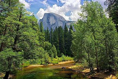 Photograph - Half-dome by Joe Urbz