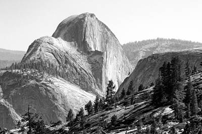Photograph - Half Dome North Side by David Beebe