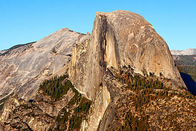 California Yosemite Photograph - Half Dome by Peter Tellone