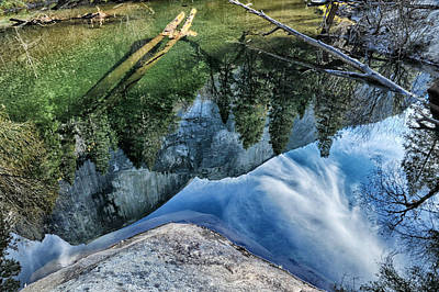 Photograph - Half Dome Reflected by Cat Connor