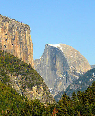 Photograph - Half Dome View by Ed  Cooper Photography