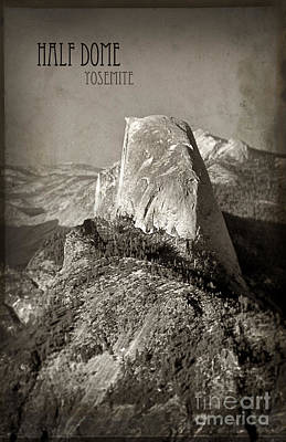 Photograph - Half Dome Yosemite by Jill Battaglia