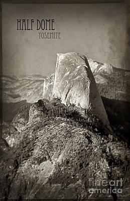 Photograph - Half Dome Yosemite by Jill Battaglia