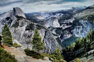 Half Dome Yosemite Art Print by Paddrick Mackin