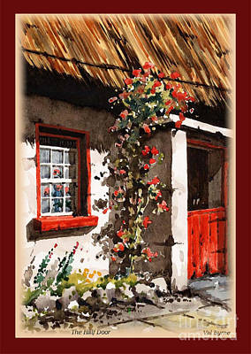 Painting - Wexford  Half Door by Val Byrne
