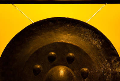Photograph - Half Gong by Anthony Doudt