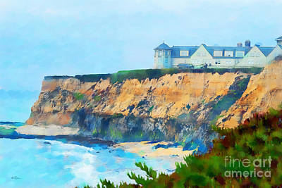Half Moon Bay 2 Print by Betty LaRue