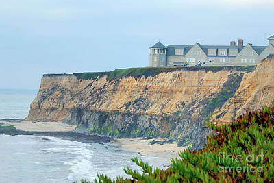 Half Moon Bay Art Print by Betty LaRue