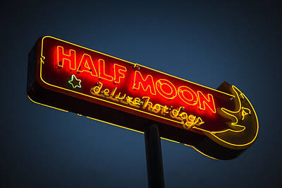 Half Moon Art Print by Bryan Scott