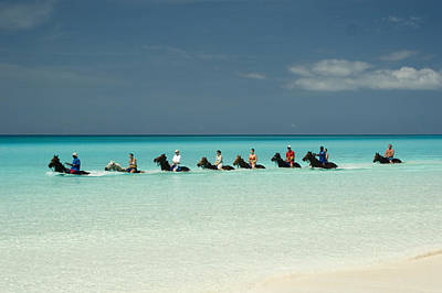 Surf Lifestyle Photograph - Half Moon Cay Bahamas Beach Scene by David Smith