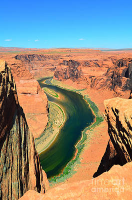 Photograph - Half Of Horseshoe Bend by Debra Thompson