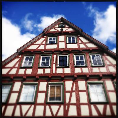 House Photograph - Half-timbered House 05 by Matthias Hauser