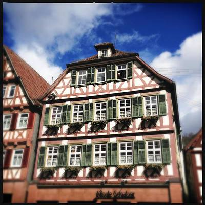 House Photograph - Half-timbered House 11 by Matthias Hauser