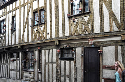 Photograph - Half Timbered House In Chartres by RicardMN Photography