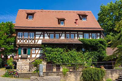 Photograph - Half-timbered House In Sindelfingen Germany by Matthias Hauser