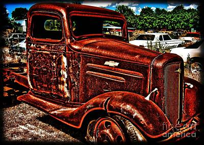 Half Ton Chevy - No.0243h Art Print by Joe Finney