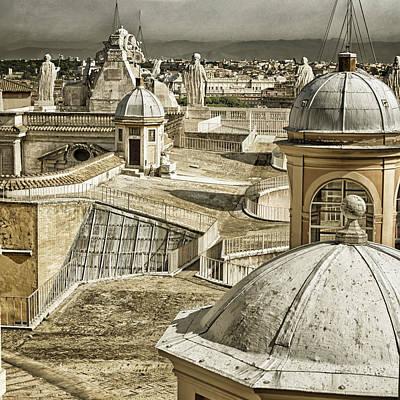 Vatican Photograph - Half Way Up by Joan Carroll