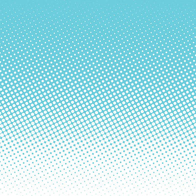 Texture Wall Art - Digital Art - Halftone Background, Pop Art Design by Bobnevv