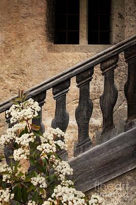 Stair-rail Photograph - Halfway Down by Heiko Koehrer-Wagner