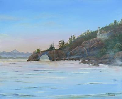 Halibut Cove Art Print