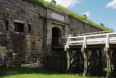 Jeff Bridges Painting - Halifax Citadel by Jeffrey Kolker