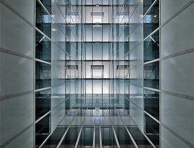Perspective Wall Art - Photograph - Hall Lighting by Henk Van Maastricht