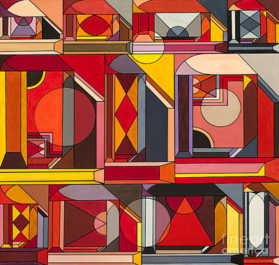 Escher Painting - Hall Of Dreams by Christopher Page