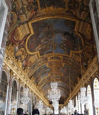 Photograph - Hall Of Mirrorsversailles by Kristine Bogdanovich