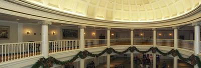 Hall Of Presidents Walt Disney World Panorama Art Print by Thomas Woolworth