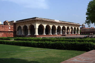 Photograph - Hall Of Public Audience - Red Fort - Agra by Aidan Moran