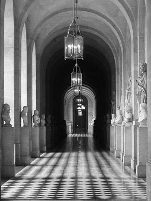 Art Print featuring the photograph Hall Of Sculpture by Meaghan Troup