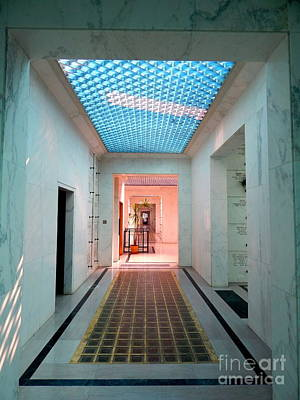Photograph - Hall Of Spirits New Orleans Mausoleum by Michael Hoard