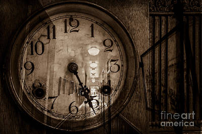 Hall Of Time Art Print by Pam Vick