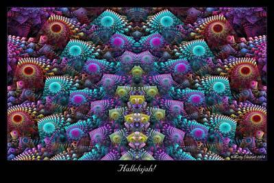 Digital Art - Hallelujah by Missy Gainer
